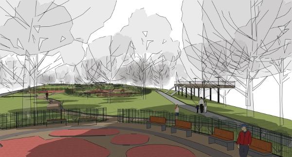 Obrázky ke článku: Městský park