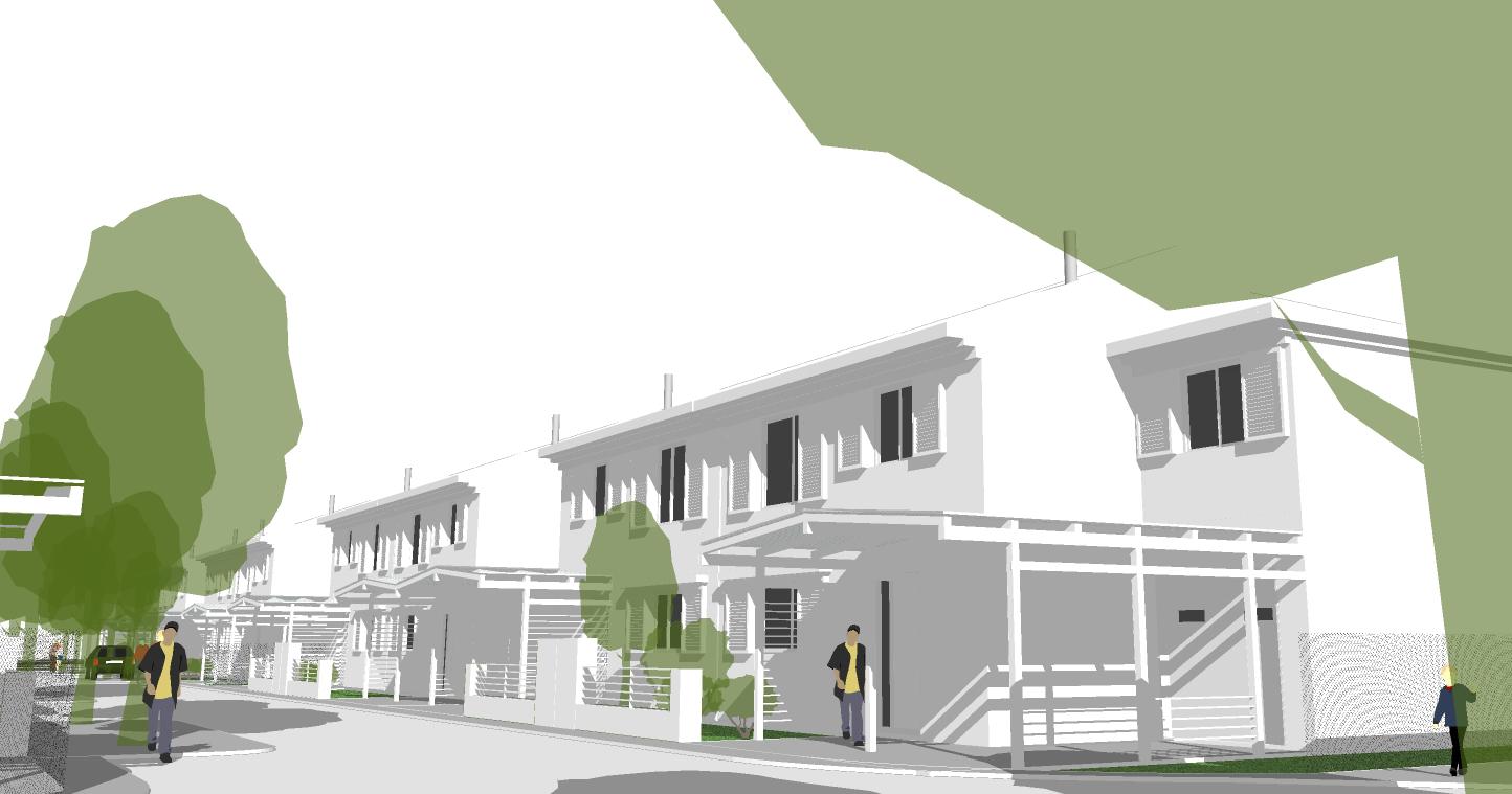 Obrázky ke článku: Řadové rodinné domy
